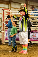 Mutton Busting and Stick Horse Race